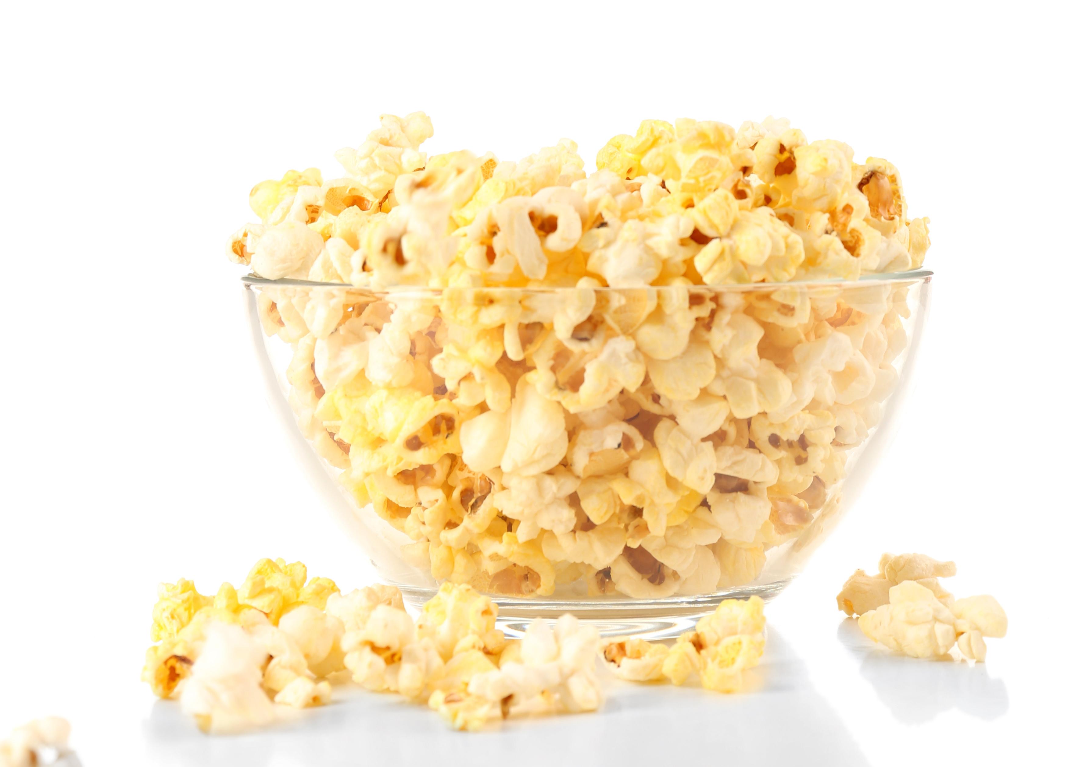 Popcorn with Black Olives