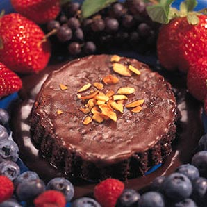 Chocolate, Almond and Extra Virgin Olive Oil Cake