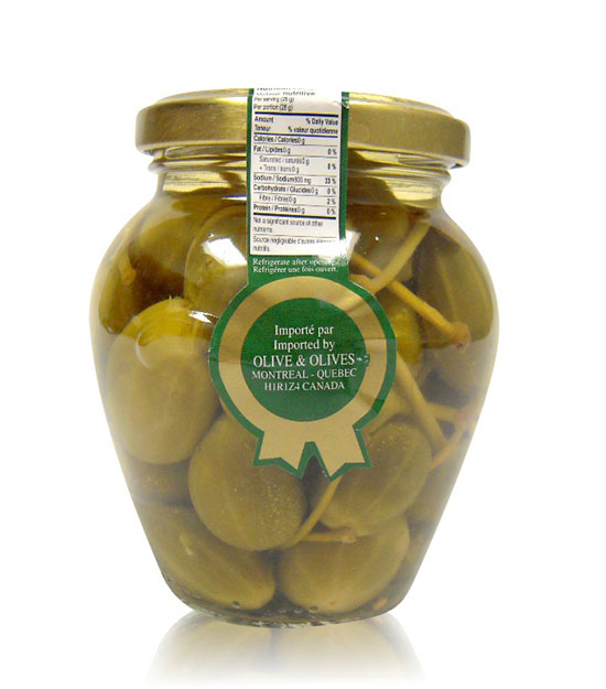O&O Olives Manzanilla aromatisées à l'orange