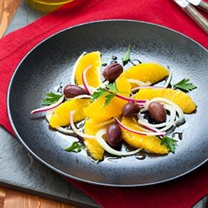 Salade orange et olive