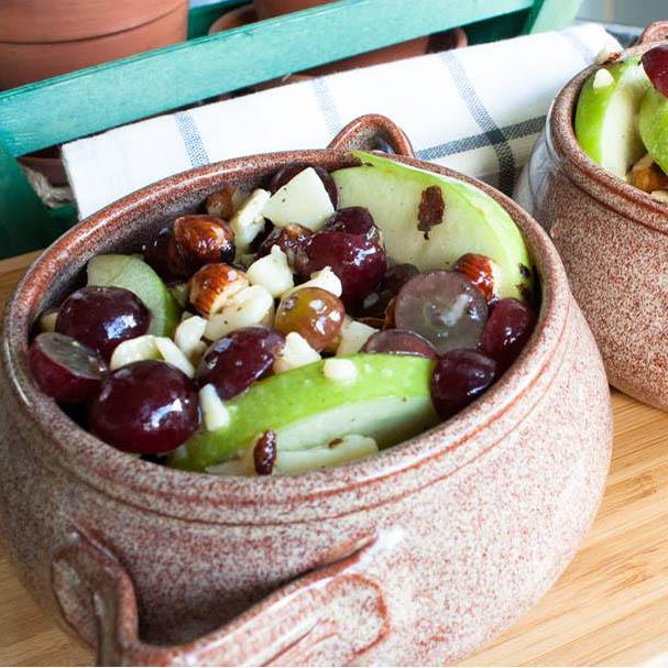 Salade de pommes au O&O Grand Cru Vinaigre de pomme