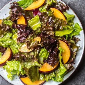 Salade à la prune et au vinaigre balsamique O&O