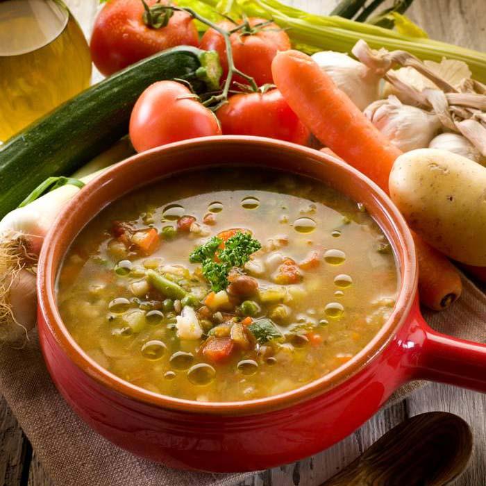 Olive Oil Vegetable Soup