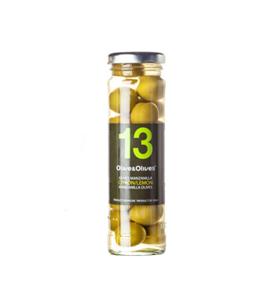 O&O Olives manzanilla aromatisées au citron