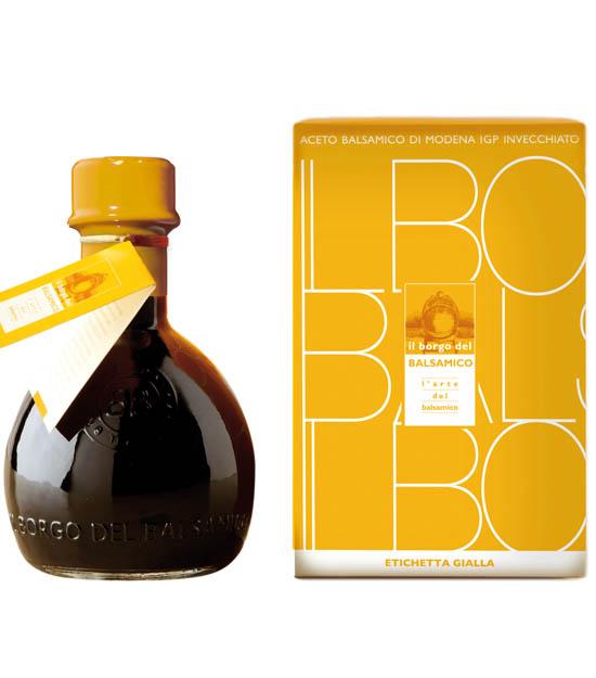 Il Borgo Vinaigre balsamique de Modène IGP Étiquette Jaune