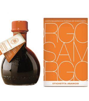Il Borgo Vinaigre balsamique de Modène IGP - Étiquette orange