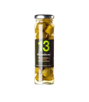 O&O Orange flavoured manzanilla olives