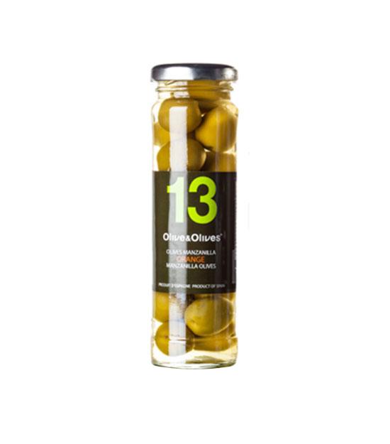 O&O Olives Manzanilla aromatisées à l'orange
