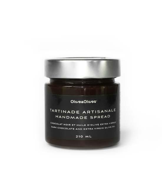 O&O Tartinade - Dark chocolate and extra virgin olive oil