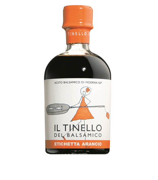 Il Tinello Vinaigre balsamique de Modène IGP - Étiquette orange