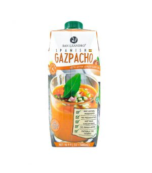 Gazpacho San Leandro with extra virgin olive oil
