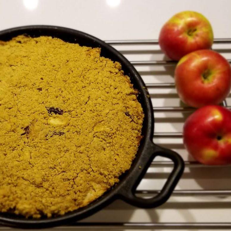 Gâteau aux pommes à l'huile d'olive