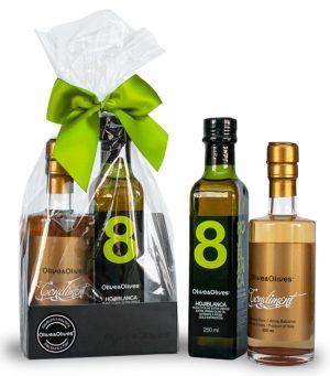 Ensemble Cadeau Condiment Blanc