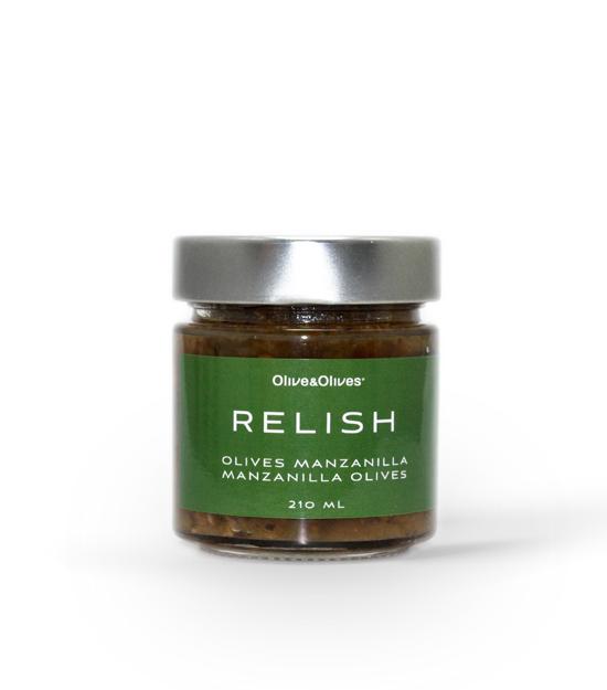 O&O Relish Manzanilla Olives