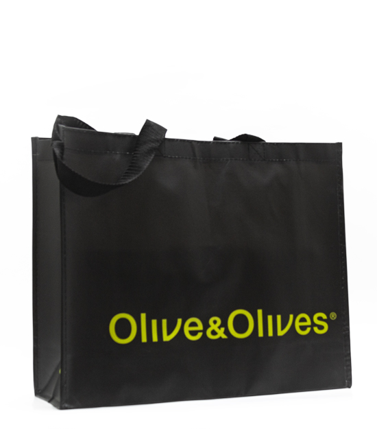 Black Olive & Olives Bag