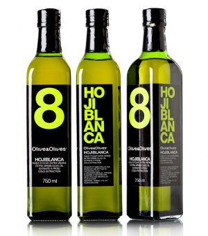 Olive & Olives 8 Hojiblanca 3 x 750 ml