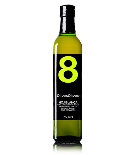 Olive & Olives 8 Hojiblanca  DO Estepa 750 ml