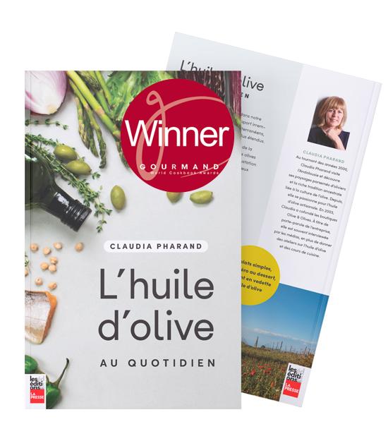 L'huile d'olive au quotidien - Gagnant du Prix Dun Gifford / Gourmand Awards