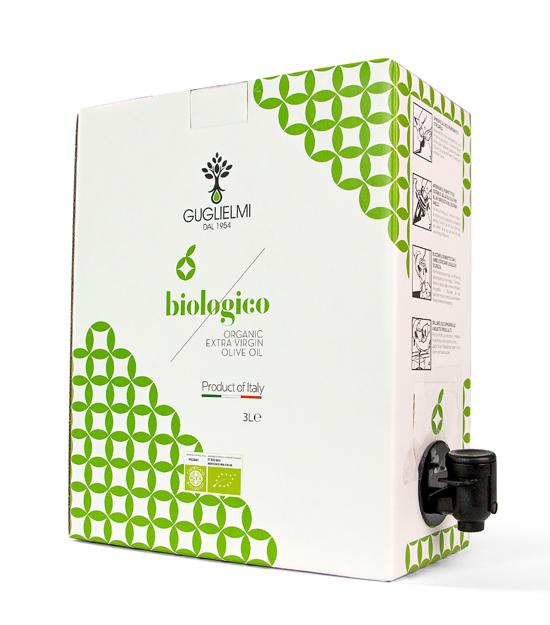 Olio Guglielmi Biologico  3L