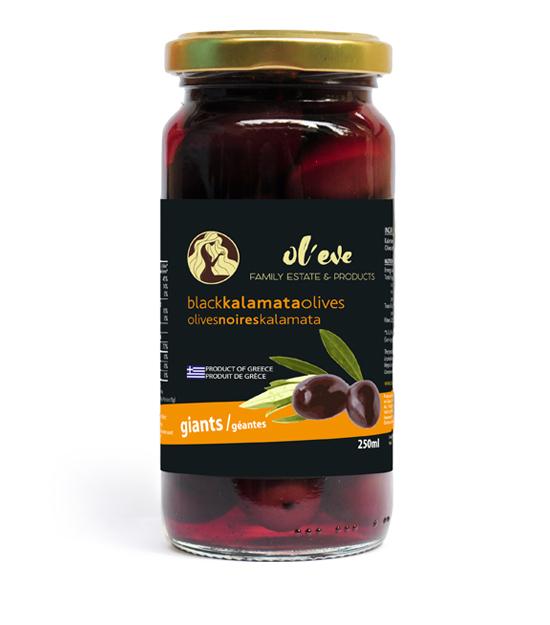 Ol-eve - Olives Kalamata géantes
